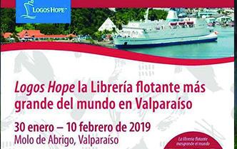 OM: Conoce detalles sobre el arribo del barco Logo Hope en Valparaíso