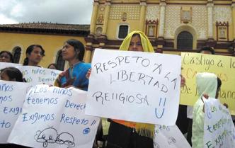 Denuncian 11 focos de intolerancia religiosa en Chiapas