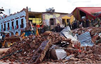 Van en ayuda a los afectados por el terremoto en México