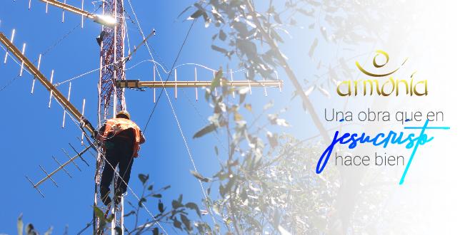 Traslado de antena en la provincia de Arauco